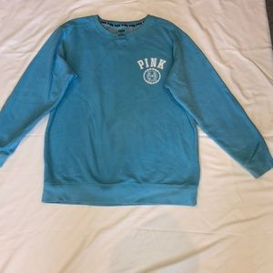 Pink size medium sweater blue